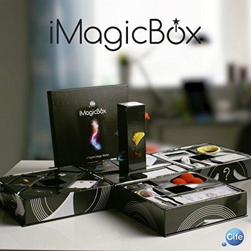 iMagicBox-41197 Caja con Diferentes Juegos de Magia, con Acceso a, Color Negro, Sin Talla (Cife Spain 41197)