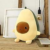 CLYDD Cute Avocado Plush Toy 9.8' Avocado Stuffed Pillow Gift for Girls Boys Friends (9.8' Plush Toy)