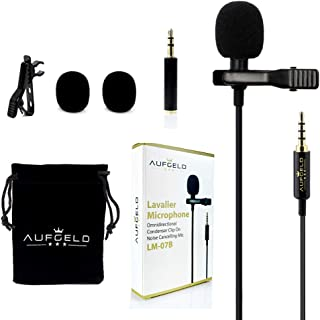 Professional Best Small Mini Lavalier Lapel Omnidirectional Condenser Microphone for..