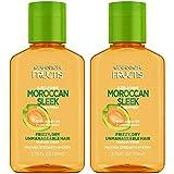 Garnier Fructis Sleek & Shine Moroccan Sleek Oil Treatment, 3.75 Fl. Oz, 2 Count