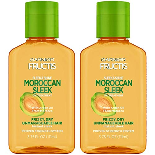 Garnier Fructis Sleek and Shine Moroccan Sleek Oil Treatment, 3.75 Fl; Oz, 2 Count