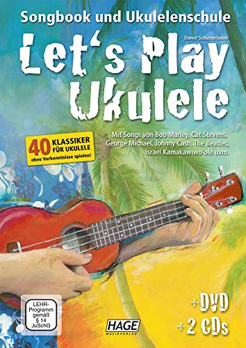 Let\'s Play Ukulele mit 2 CDs + DVD