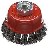Silverline 733234 - Cepillo de vaso de acero trenzado (65 mm)