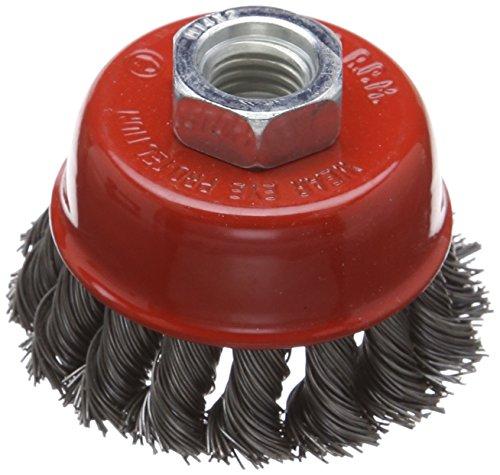 Silverline 733234 - Cepillo de vaso de acero trenzado (65 mm