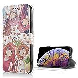 ジョイスウォール 五等分の花嫁 IPhone8 ケース IPhone7 ケース 手帳型 財布型 カードポケット 機能 耐摩擦