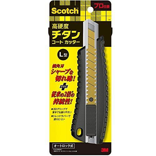スリーエム スコッチチタンコートカッターPRO L TI-DLA 00023322 【まとめ買い3個セット】
