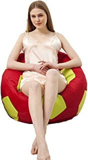 Cozy Bean Bag Adult Football  Color Red