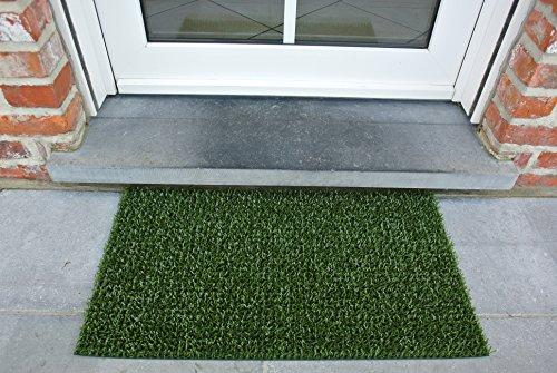 AstroTurf Classic Fußmatte, Fußabstreifer Eingangsmatte für Innen- und Außenbereich, Unvergleichliche Reinigungsleistung, Polyethylen, Klassisch-Grün, 70x40x2 cm