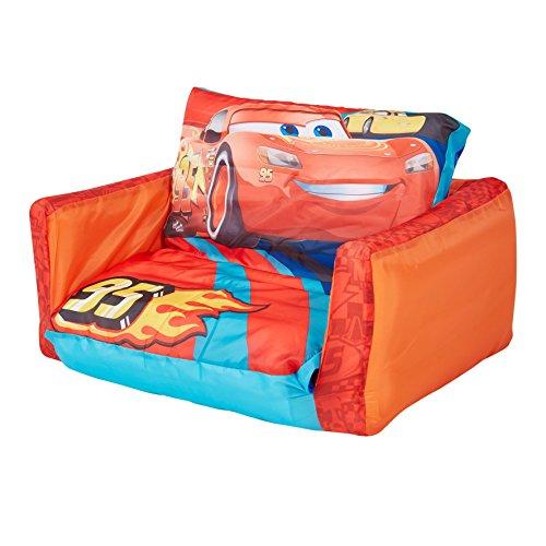 Disney Cars - Ausziehbares Minisofa – Aufblasbares Sofa und Liegestuhl (2-in-1)
