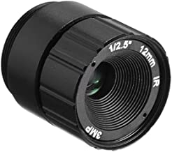uxcell 12mm 3MP F1.4 FPV Camera Lens Wide Angle CCD Camera
