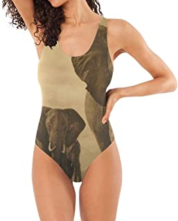 One Piece Swimsuits Flowers Leaves Womens Low Back Sexy Bathing Suit Bikini Girls Beachwear