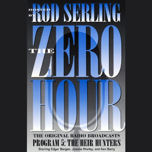The Zero Hour, Program Five audiobook cover art