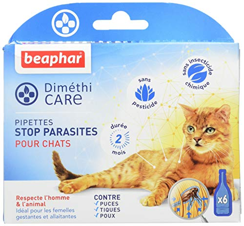 Beaphar–diméthicare, Pipette Stop parassiti–Gatto–6Pipette