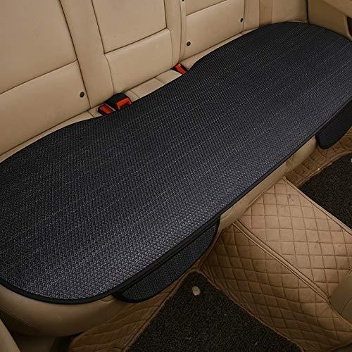 Asiento trasero del coche universal de cobertura de verano de seda del hielo antideslizante amortiguador de asiento de la cubierta del asiento bolsa de almacenamiento de Ministerio del sofá de la sill