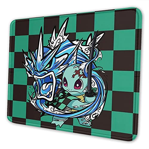 Mouse Pad Anime Gaming Mouse Pads with Stitched Edges and Non-Slip Rubber Base for Computer Laptop 7.9 x 9.5 inch