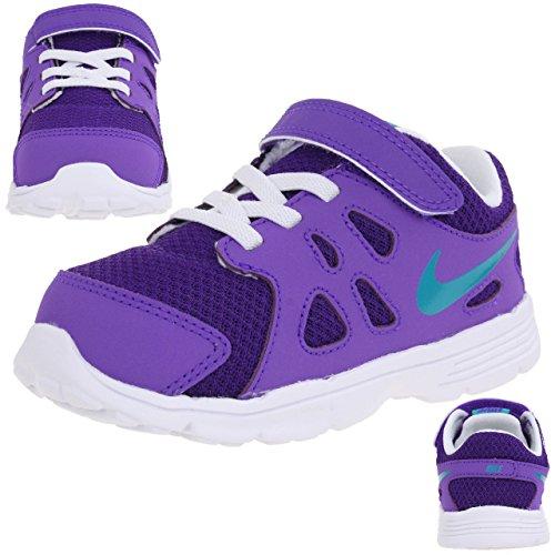Nike Revolution 2 (TDV) - Scarpe da Ginnastica Bambini, Viola, 22