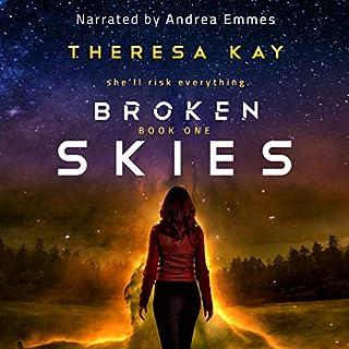 Broken Skies audiobook cover art