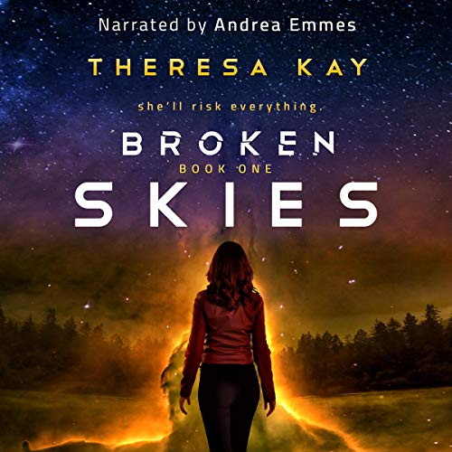 Broken Skies audiobook cover art
