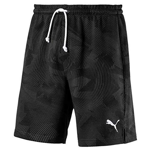 PUMA Herren Cup Casuals Shorts, Schwarz (Puma Black-Whisper white), XL
