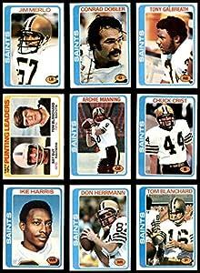 1978 Topps New Orleans Saints Team Set New Orleans Saints (Set) EX+ Saints