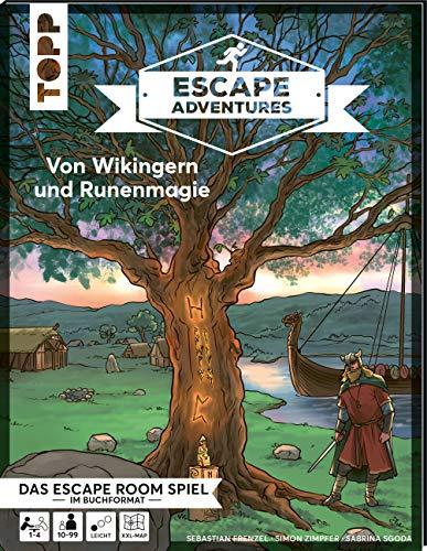 Escape Adventures – Von Wikingern und Runenmagie: Das ultimative Escape-Room-Erlebnis jetzt auch als Buch! Mit XXL-Mystery-Map für 1-4 Spieler. 90 Minuten Spielzeit