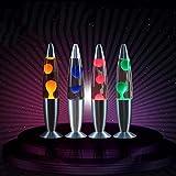 Lámpara de lava Medusa decorativa Luz Dormitorio Luces de noche Lámpara de noche Decoraciones para el hogar Aleación de aluminio de alto brillo, Verde, UE