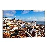 wenzhen Lissabon Panorama-Poster, dekoratives Gemälde,