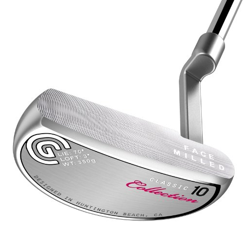 Cleveland Golf Classic Collection HB 10.0 - Putter para Mujer (Mano Derecha, 83 cm)