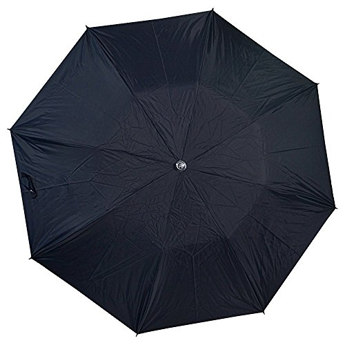 Citizen Umbrellas 3 Fold Black Office Umbrella