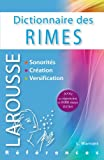 Dictionnaire des rimes - Larousse - 13/06/2012