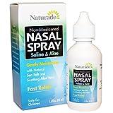NATURADE SALINE & ALOE NASAL SPRAY, 1.5 FZ , 6 pack