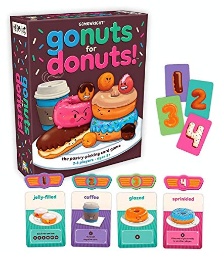 Gamewright 111 Go Nuts for Donuts Card Game...