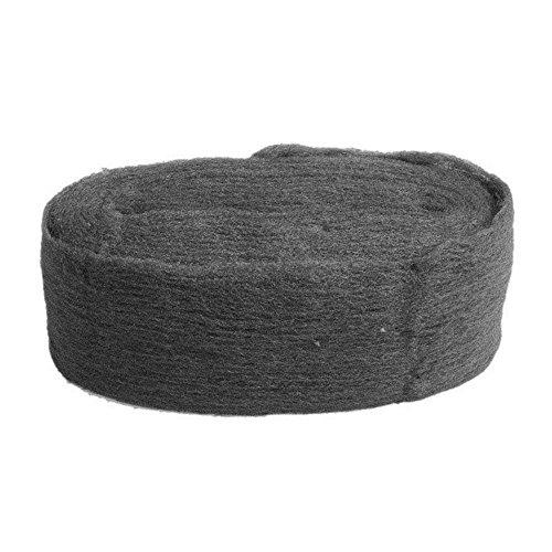 ICYANG - Rollo de lana de acero de 3,3 m, grado 0000, almohadilla de lana de alambre para muebles de cristal, herramientas de precisión, pulido o fotografía