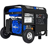 DuroMax XP13000E Gas Powered Portable Generator - 13000 Watt -Electric Start- Home Back Up & RV Ready, 50 State Approved