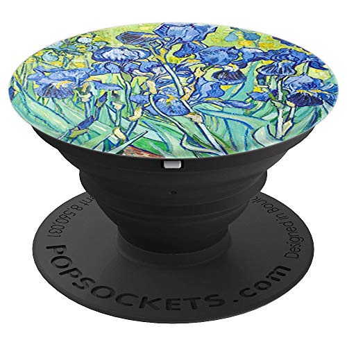 Irises Painting Art Vincent Van Gogh Pop Mount Socket PopSockets Grip and Stand for