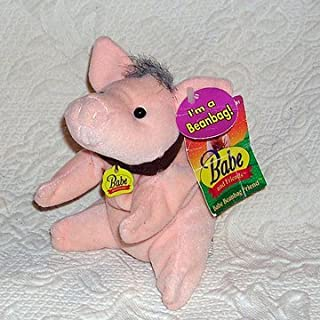 Retired Babe and Friends 7 Inch Babe Pig Plush Bean Bag Doll
