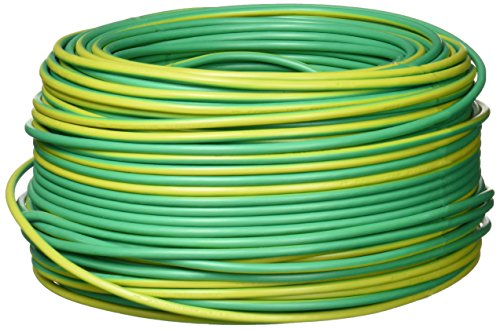 Keer 4083 Cable THW, Calibre 12, color verde, 100 m