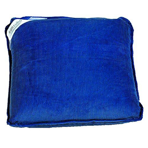 Teckmedi Massagekissen, dunkelblau Vibrationskissen Rückenmassage inkl. Batterien