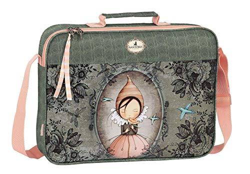 safta 611913385 Tasche Aktentasche für Schulen Santoro