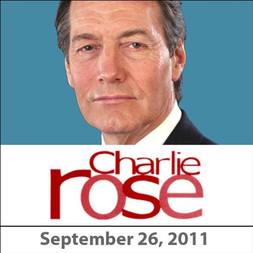 Charlie Rose: Benjamin Netanyahu, September 26, 2011 cover art