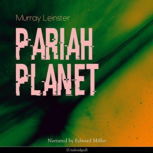 Pariah Planet audiobook cover art