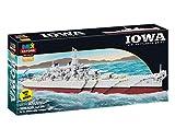 Imex Oxford Iowa US Battleship BB-61 1071 Pieces