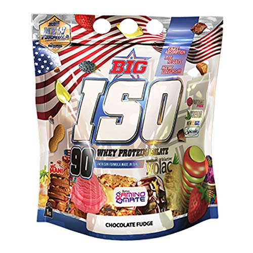 Big Big Iso Aislado Proteina Vanilla Cream 1Kg 600 g