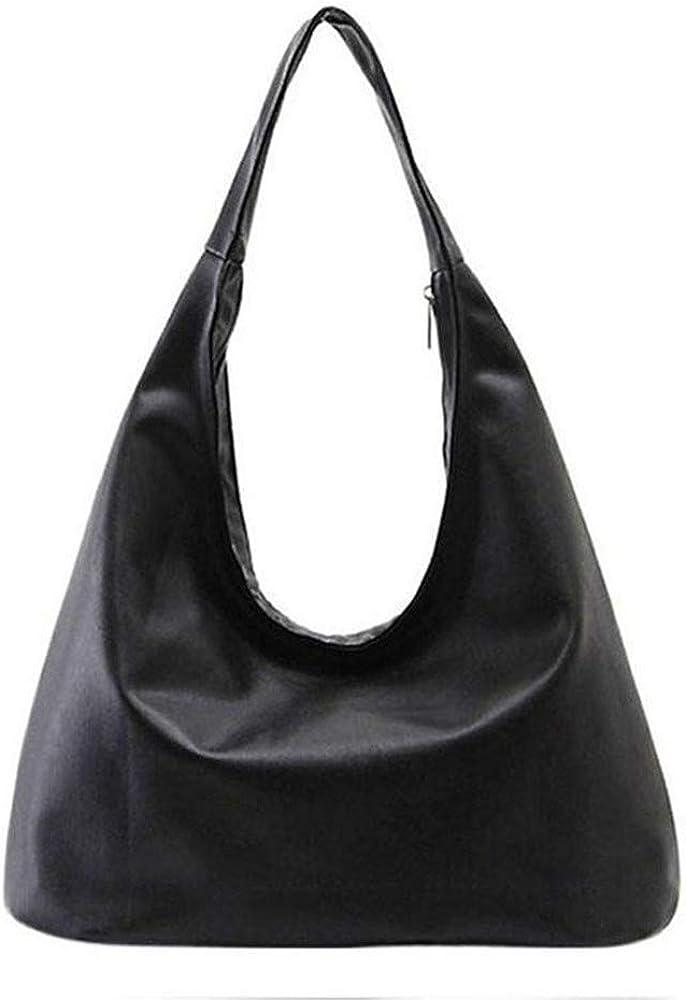 Women's Hobo Bag, PU Leather Shoulder Handbags Purse Designer Top Handle Bag