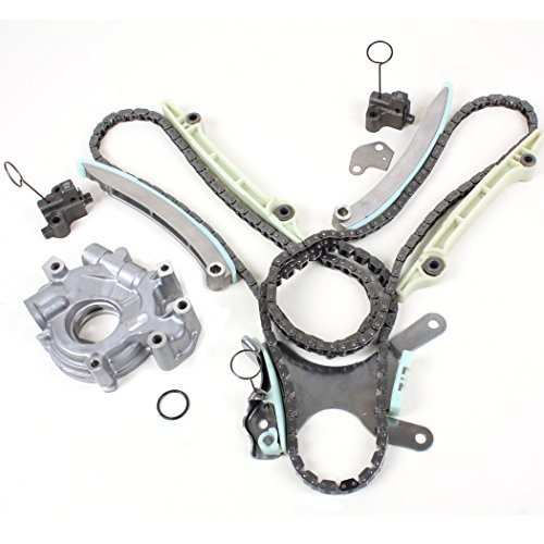 New TK8090OP Timing Chain Kit (without Gears), & Oil Pump Set (Incl. RTV Silicone) for Dodge & Jeep 4.7L 2000-08