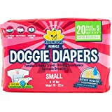 Best Dog Diapers Heats - Disposable Dog Female Diapers | 20 Premium Quality Review