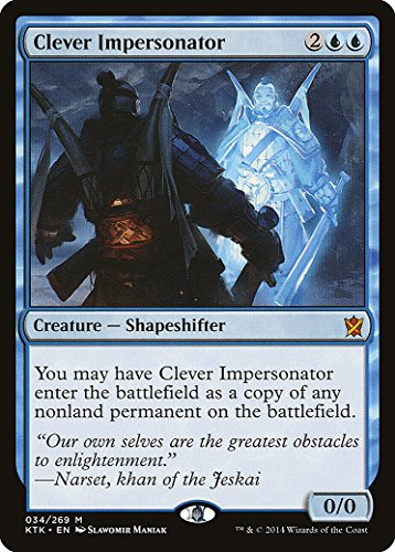 Magic The Gathering - Clever Impersonator (034/269) - Khans of Tarkir