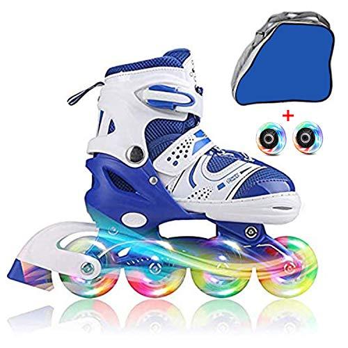 JIFAR Youth Children's Inline Skates for Kids, Adjustable Inlines Skates...