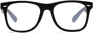 Blue Light Blocking Glasses Square Transparent Frame Computer Game Eyeglasses