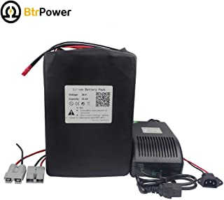 36V 20Ah / 30Ah Ebike Battery Lithium Li-ion Battery Pack for 1000W / 1500W Electric Bicycle Scooter with 5A Charger BMS (36V 35Ah)